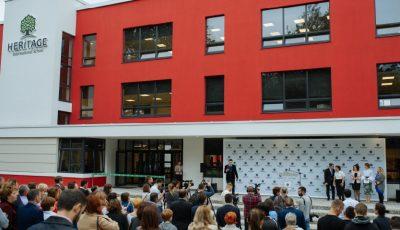 Școala Internațională Heritage a fost inaugurată oficial la Chișinău!