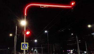 În Capitală au apărut cinci semafoare neobișnuite!