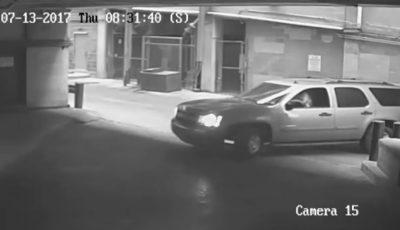Imagini video șocante! O șoferiță se prăbușește în gol de la etajul șapte al unei parcări, cu tot cu maşină