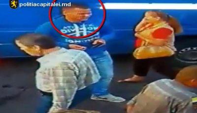 Video. Se caută un bărbat care a furat o geantă cu bani dintr-un automobil. Cine îl recunoaște este rugat să anunțe imediat poliția