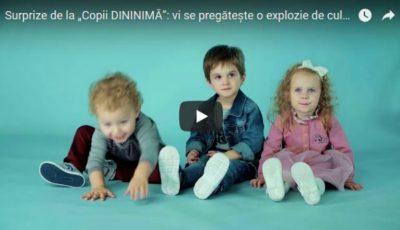 """Surprize de la """"Copii DININIMĂ"""": vi se pregătește o explozie de culoare!"""