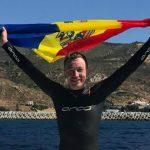 Foto: Un moldovean a traversat înot strâmtoarea Gibraltar! Vezi video