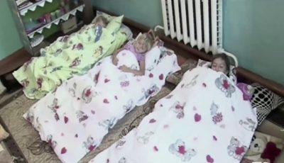 Copiii de la o grădiniță din raionul Cahul dorm pe podea