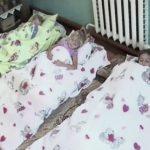 Foto: Copiii de la o grădiniță din raionul Cahul dorm pe podea