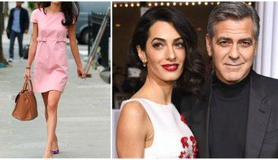 Amal Clooney, secretul siluetei de invidiat la doar două luni de la nașterea gemenilor