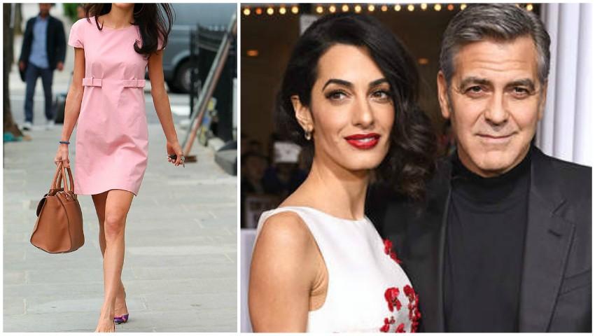 Foto: Amal Clooney, secretul siluetei de invidiat la doar două luni de la nașterea gemenilor