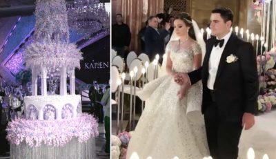 Nuntă de lux la Moscova! Un miliardar armean și-a însurat fiul, la nuntă a cântat Eros Ramazotti