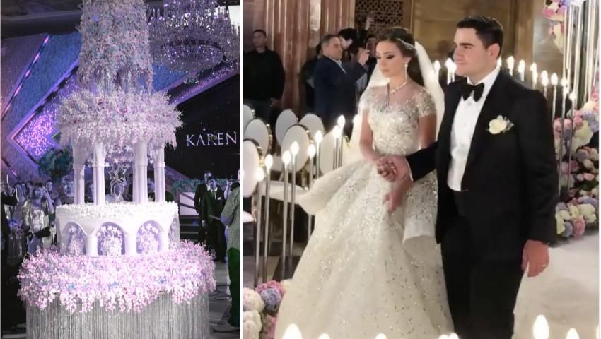 Foto: Nuntă de lux la Moscova! Un miliardar armean și-a însurat fiul, la nuntă a cântat Eros Ramazotti