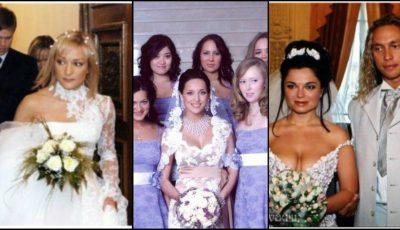 Poze rare de la nunțile showbizului rusesc!