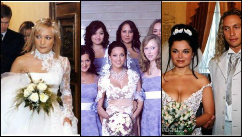 Foto: Poze rare de la nunțile showbizului rusesc!