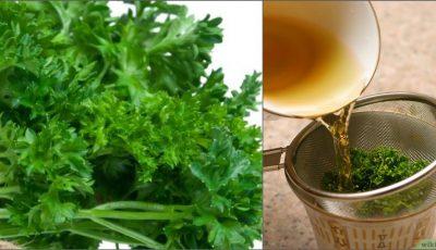 Ceaiul de pătrunjel elimină retenția de apă din organism. Cum se prepara?