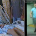 Foto: Alexandru Bodean, tânărul care acum trei ani a suferit un atac cerebral în SUA, a câștigat lupta cu boala! Vezi video