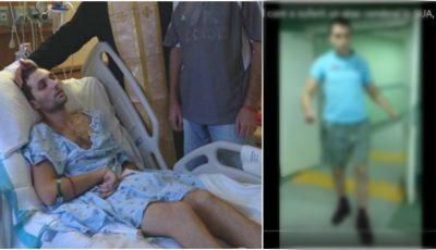 Alexandru Bodean, tânărul care acum trei ani a suferit un atac cerebral în SUA, a câștigat lupta cu boala! Vezi video