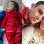 Foto: Gemenii s-au născut la patru luni după moartea mamei!