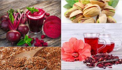Alimente care contribuie la normalizarea valorilor tensiunii arteriale