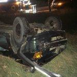 Foto: Accident grav în apropiere de Chișinău: o mașină s-a răsturnat. Un tânăr de 31 de ani a murit pe loc!
