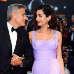 Foto: Amal Clooney, prima apariție pe covorul roșu după naștere!