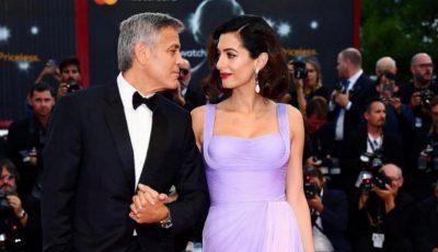 Amal Clooney, prima apariție pe covorul roșu după naștere!
