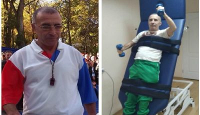 Antrenorul Andrei Sava are un vis: să poartă merge din nou! Să-l ajutăm împreună