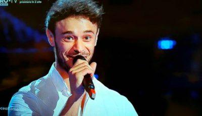 """Senzațional! Dima Trofim a cântat ,,Fairytale"""" la Vocea României și a impresionat juriul"""