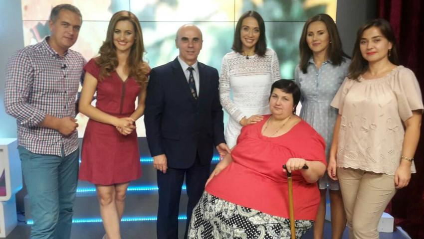 """Foto: Unica Sport și emisiunea ,,Acasă Devreme"""" au dat startul proiectului Serviciul de Slăbit Sănătos! Cunoaște-o pe participanta celei de-a treia ediții"""