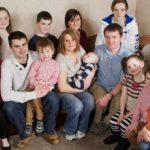 Foto: Cel de-al 20-lea copil s-a născut în cea mai numeroasă familie din Marea Britanie