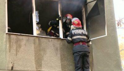 În această dimineață, a luat foc un apartament din Capitală