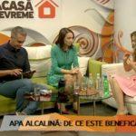 Foto: Galina Tomaș, invitată la emisiunea Acasă Devreme: cum poți testa calitatea apei și de ce este important să consumi apa alcalină