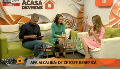 Galina Tomaș, invitată la emisiunea Acasă Devreme: cum poți testa calitatea apei și de ce este important să consumi apa alcalină