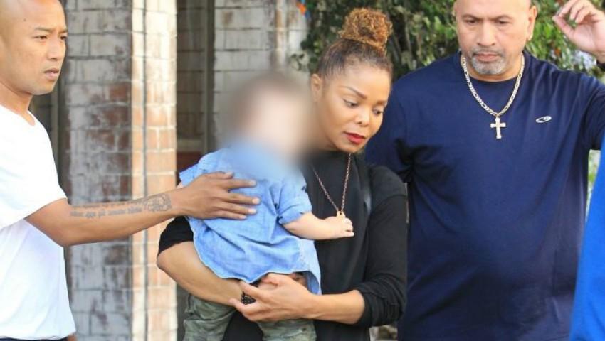Foto: Cum arată la 8 luni fiul lui Janet Jackson