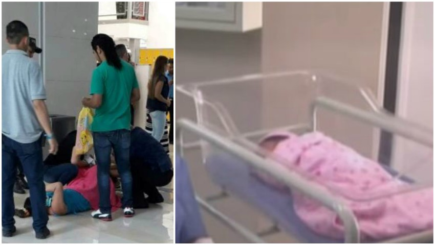 Foto: O femeie a născut pe holuri într-un mall. Gestul unui medic care se afla la cumpărături este unul impresionant
