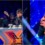 Foto: Moldoveanul Johy Davis a destins atmosfera la X Factor și i-a amuzat copios pe jurați! Vezi momentul