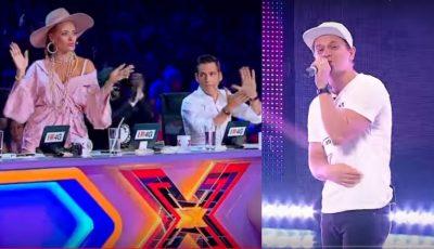 """Video! Profesorul de engleză din Chișinău i-a uimit pe jurați și a luat patru de ,,Da"""" la X Factor"""