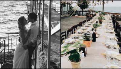Nunta pe malul mării, visul Oliei Stepanenco! Vezi ce ținută a îmbrăcat stilista