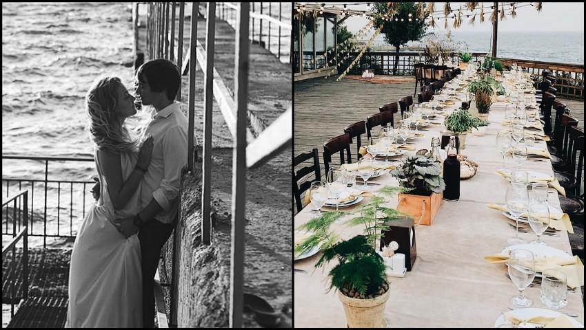 Foto: Nunta pe malul mării, visul Oliei Stepanenco! Vezi ce ținută a îmbrăcat stilista