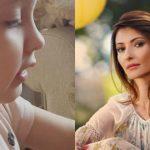 """Foto: Angela Gonța a publicat un nou filmuleț cu fiica sa, Ekaterina: ,,sângele apa nu se face, fata mamei"""""""