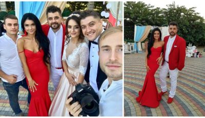 Tatiana și Anatol Melnic, în rol de nași! Iată pentru ce ținute au optat la nunta primilor fini