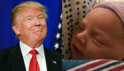Donald Trump a devenit bunic pentru a noua oară