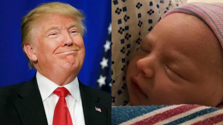 Foto: Donald Trump a devenit bunic pentru a noua oară