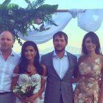 Foto: Poze de la nunta prezentatoarei Tv Inesa Voscoboinic, din Grecia! Cum a arătat rochia de mireasă