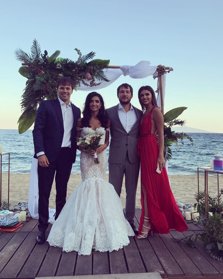 Poze De La Nunta Prezentatoarei Tv Inesa Voscoboinic Din Grecia