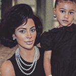 Foto: Kim Kardashian, așa cum n-ai mai văzut-o, într-o ședință foto inedită alături de fiica ei