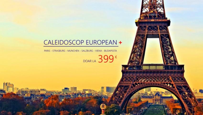 Pentru o călătorie de vis alege Caleidoscop European Plus