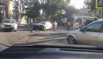 Accident grav în Capitală. O femeie de 55 de ani a avut de suferit