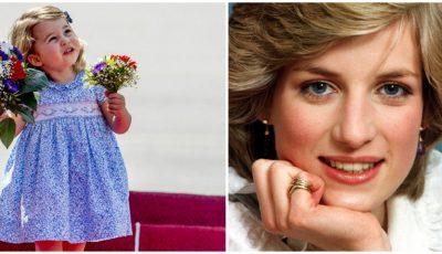 Micuța Charlotte are același hobby ca și bunica ei, Prințesa Diana
