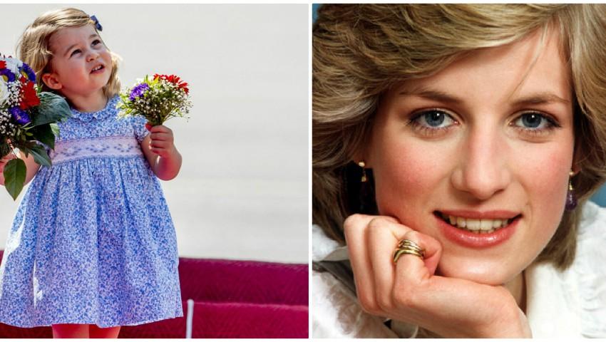 Foto: Micuța Charlotte are același hobby ca și bunica ei, Prințesa Diana