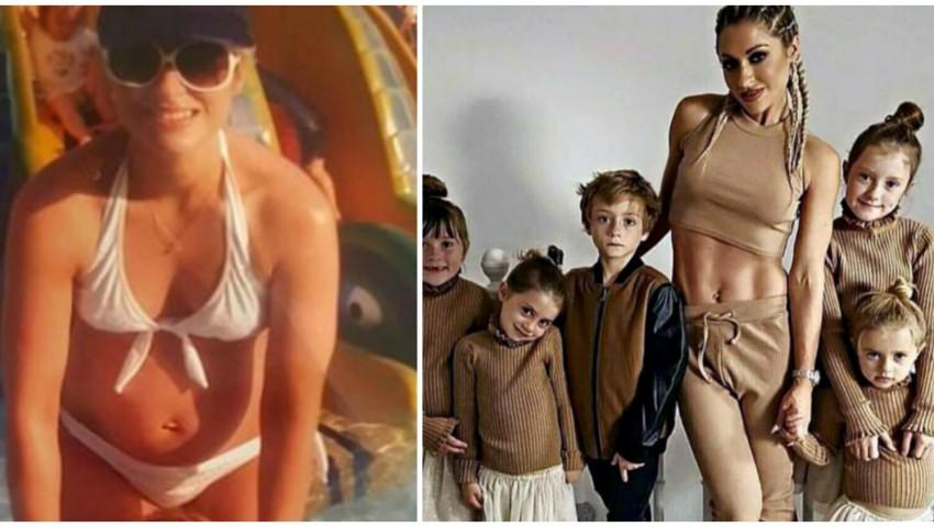 Foto: E cea mai în formă mamă din lume! Are 5 copii și afișează o siluetă de invidiat