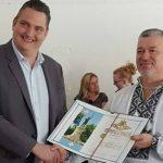 Foto: Un profesor moldovean de la Universitatea Aalborg din Danemarca a primit Diploma de gradul I din partea autorităților