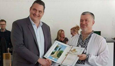 Un profesor moldovean de la Universitatea Aalborg din Danemarca a primit Diploma de gradul I din partea autorităților