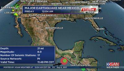 Cutremur cu magnitudinea 8 s-a produs în Mexic. O avertizare de tsunami a fost emisă pentru şapte state